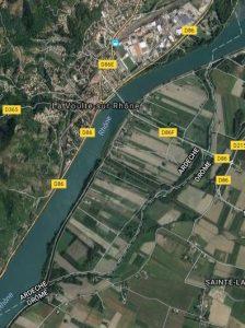 les îles de La Voulte (Ardèche, France)